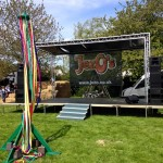 JezO's portable stage