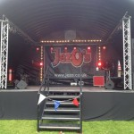 JezOs Inflatable stage