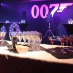 James Bond Themed Decor